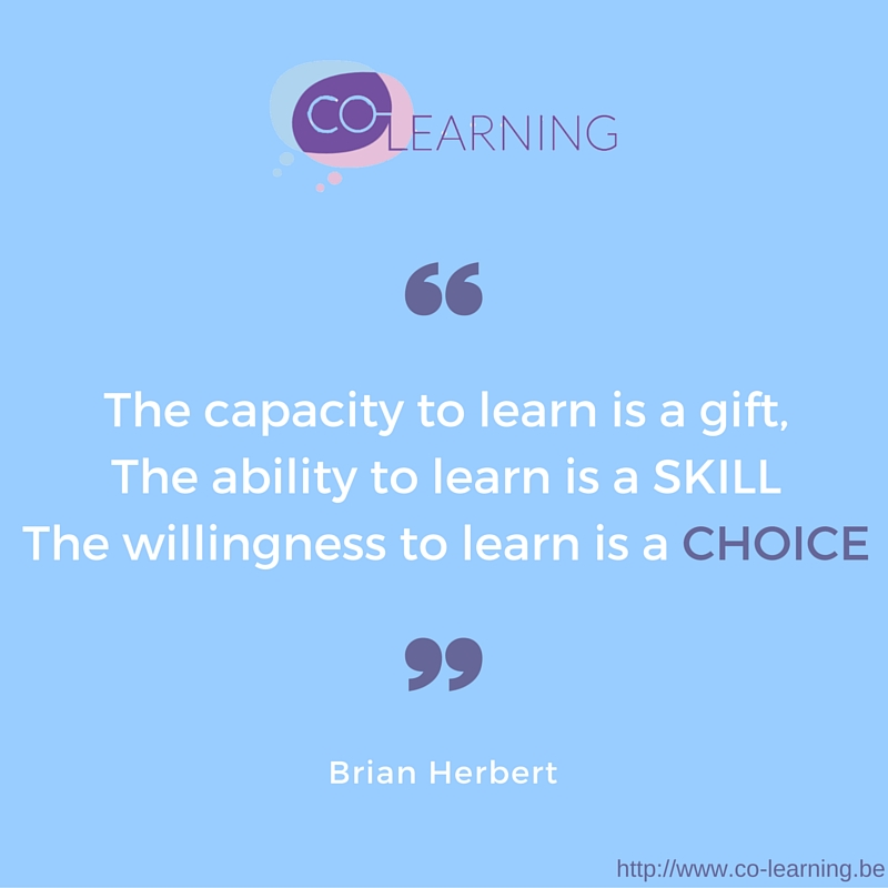 choose to learn new things